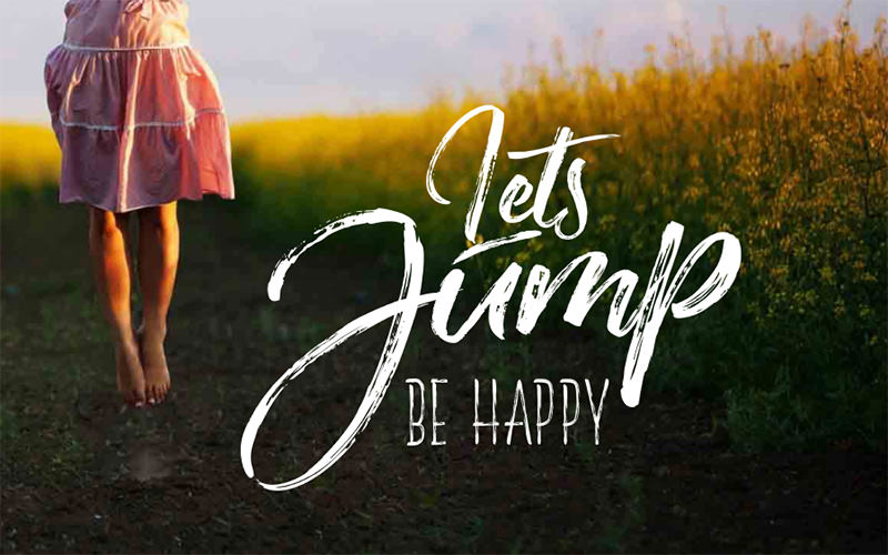 be-happy-alternative-font