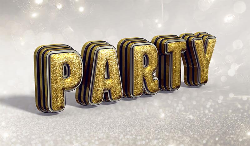 3d-party-text-effect-850