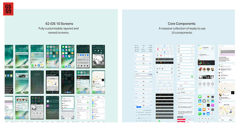 《【免费下载】45+件2017最新非常漂亮的UI工具包》