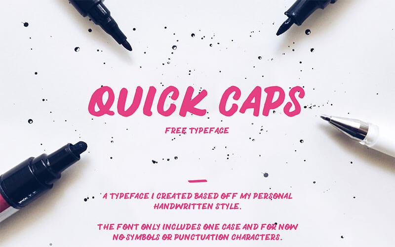 quick-caps-typeface