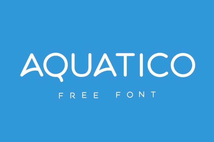 aquatico-typeface-animation