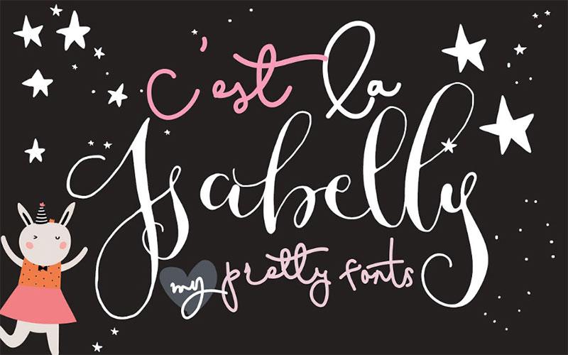 cest-la-isabelly-script