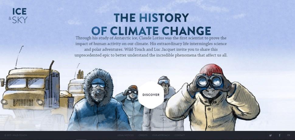 ice-sky-custom-illustrated-website