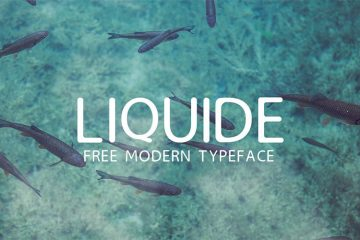 liquide-free-modern-typeface