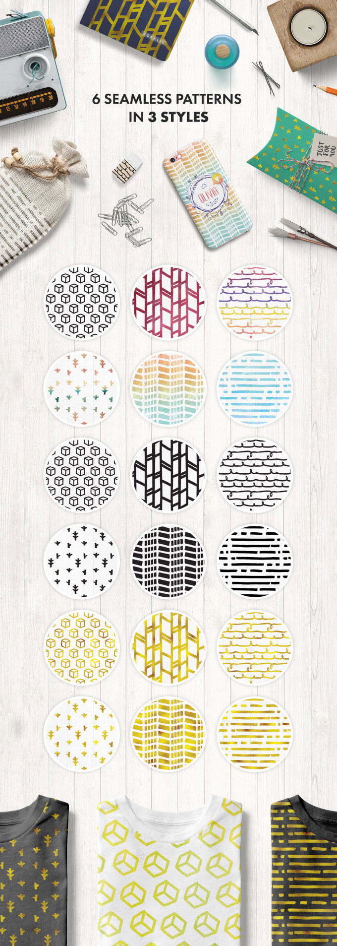 6-semaless-patterns-in-3-styles