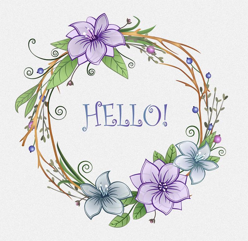 flowers_wreath