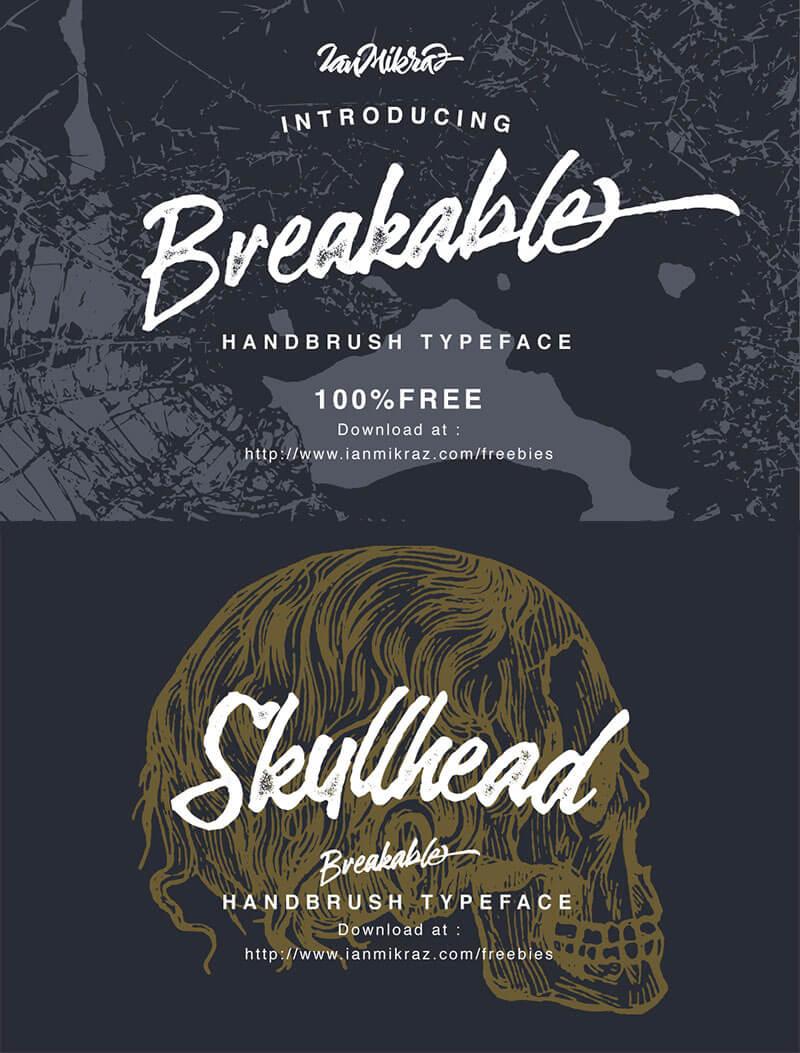 breakable-font