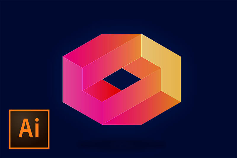 create-3d-logo-illustrator-tutorial