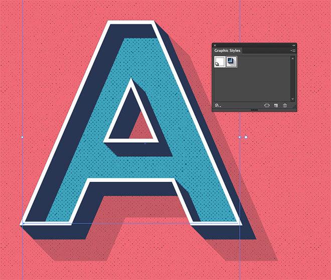 editable-retro-text-style-in-illustrator