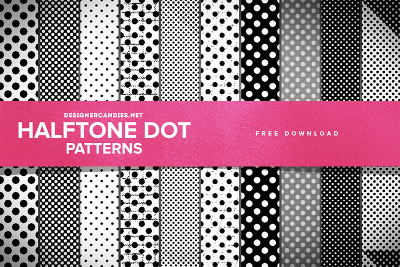 free halftone ps pattern