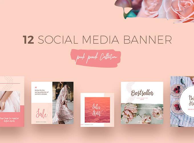Psd47 photoshopvip for Social media templates psd