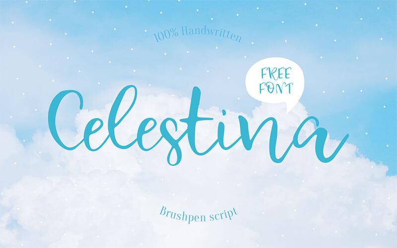 celestina-free-font