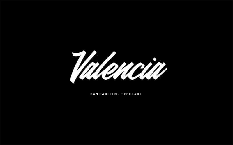 valencia-calligraphy-typeface