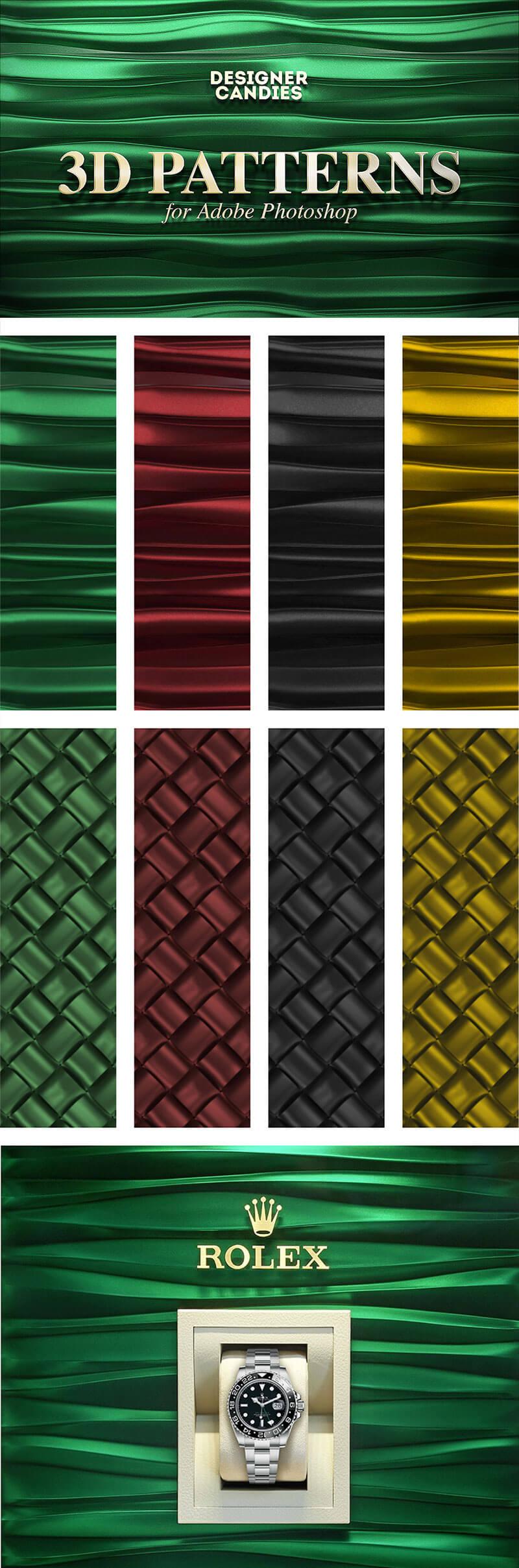 free-3d-patterns-photoshop