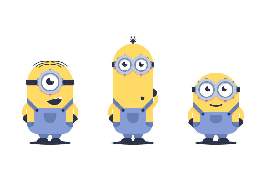 minions-in-adobe-illustrator