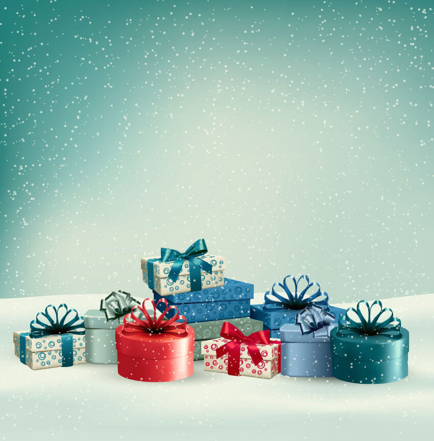 christmas-presents-in-the-snow
