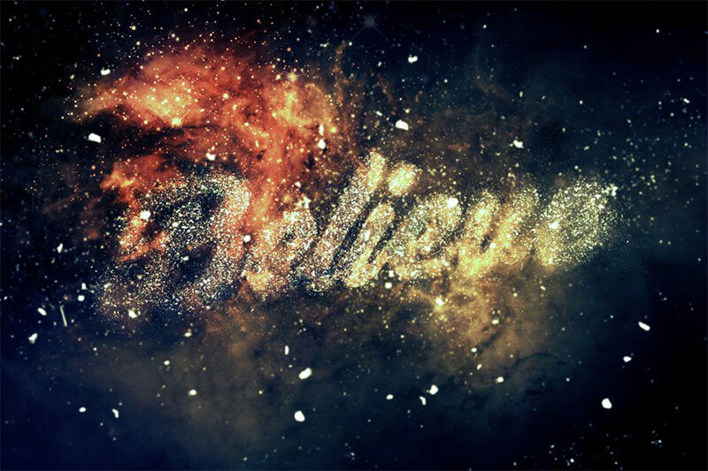 easy-nebula-text-effect