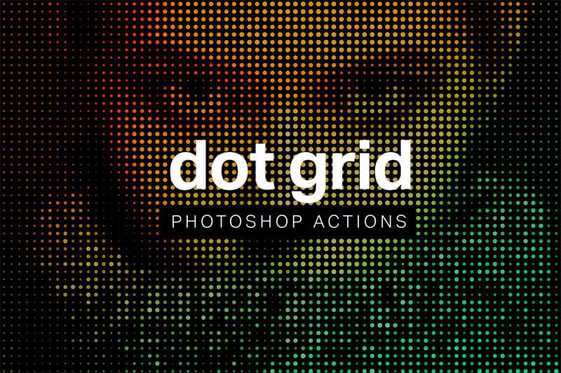 dot-grid-photoshop-action