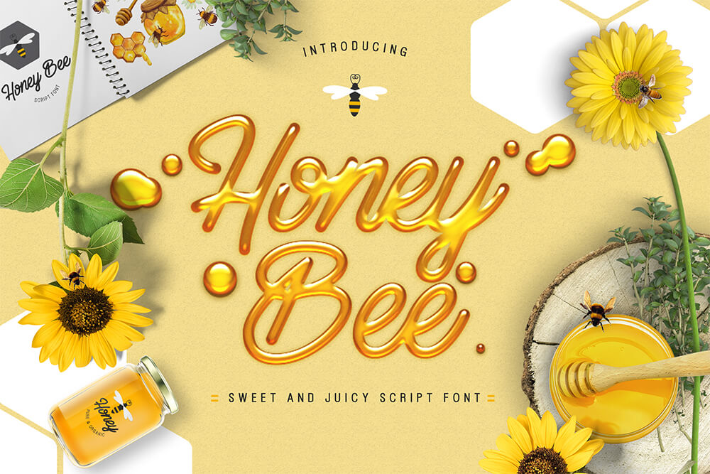 honey-bee-font