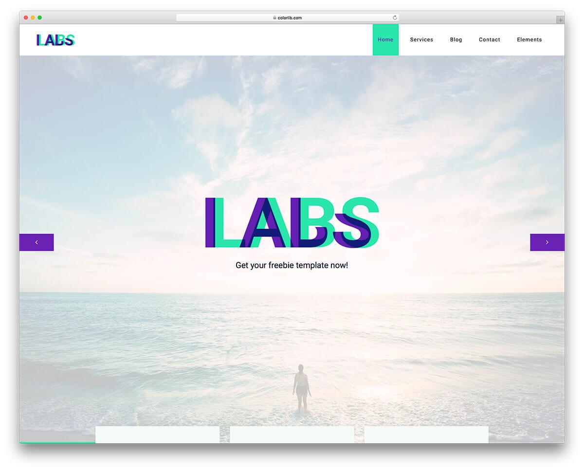 labs-digital-agency-website-template