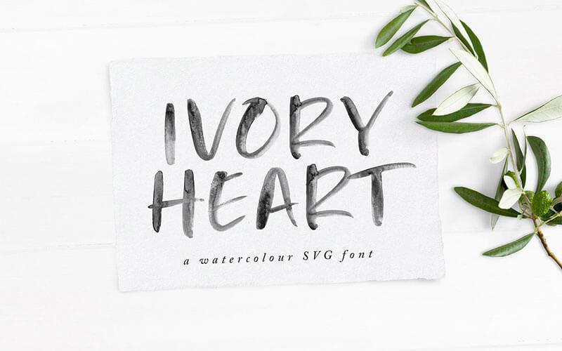 ivory-heart