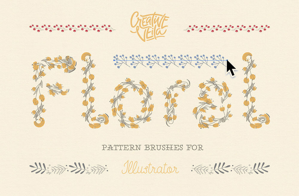 floral-pattern-brushes