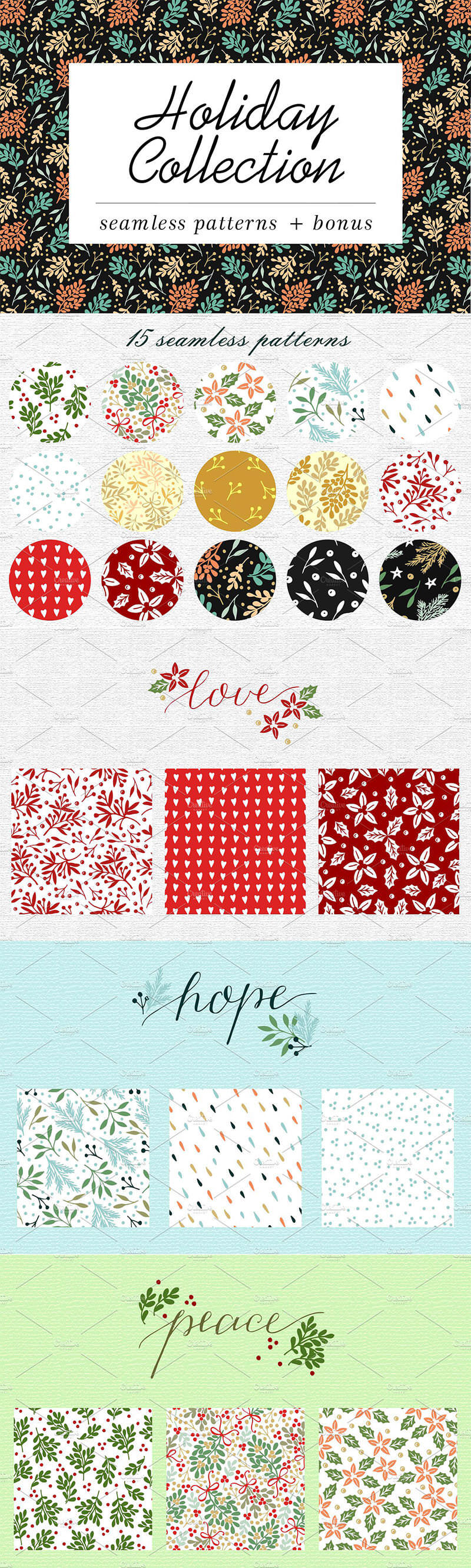 holiday-pattern-collection