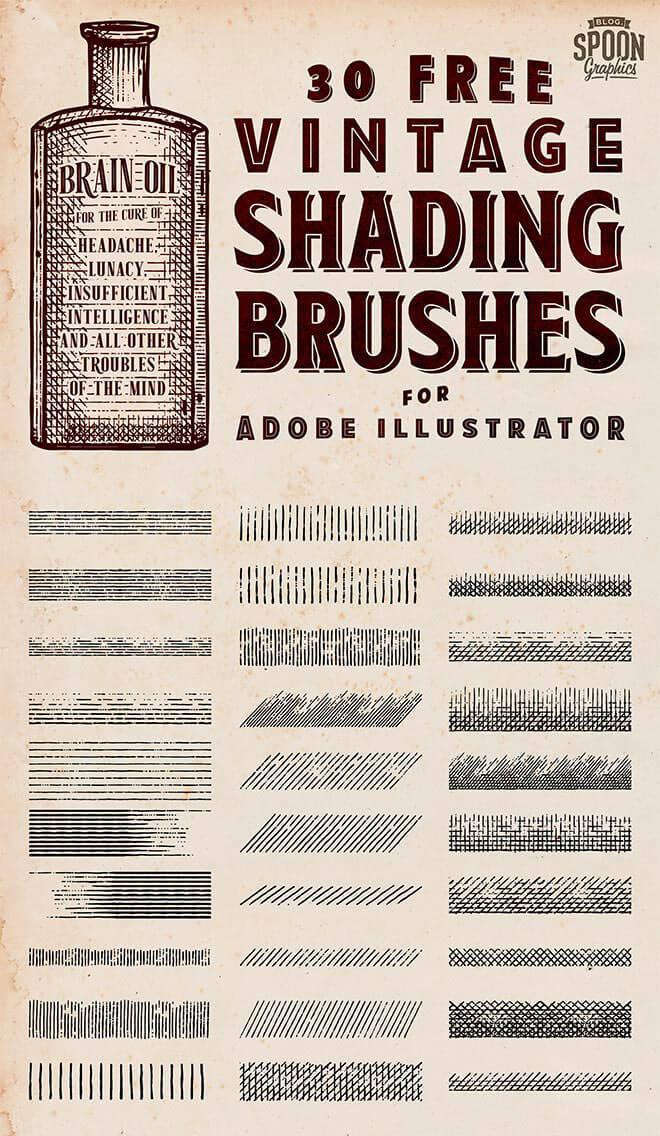 vintage-shading-brushes