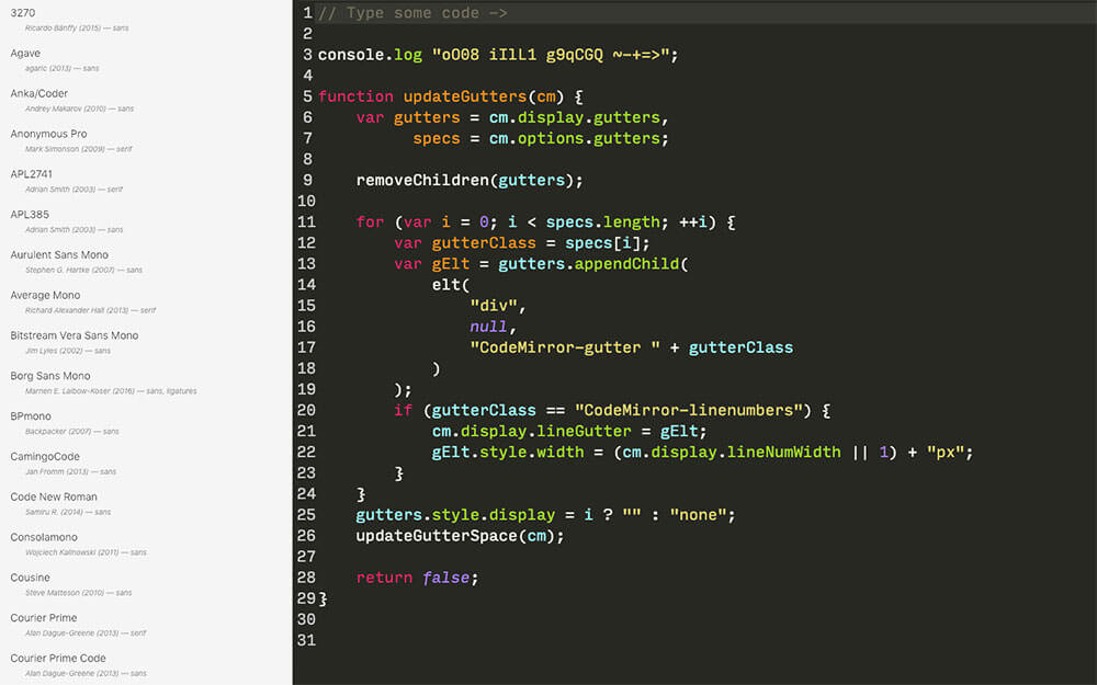 programming-font