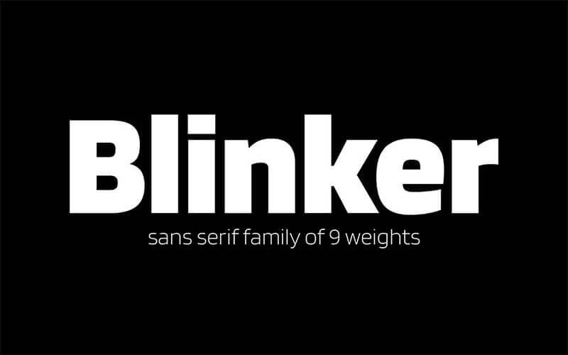blinker-font-7