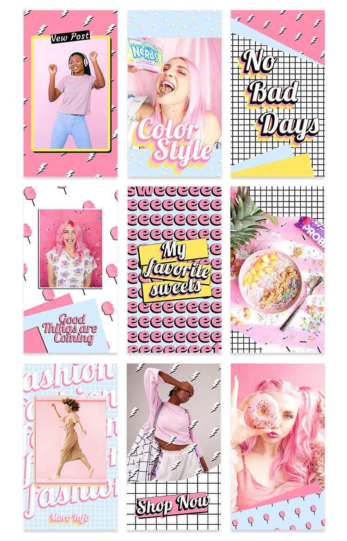 pv_free_pink_instagram_stories_set