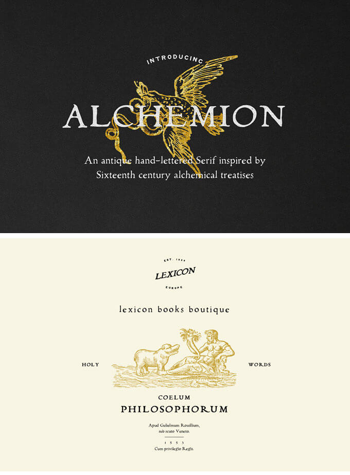 alchemion-display-serif-font