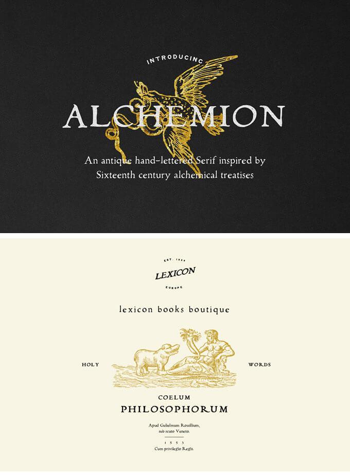 alchemion-display-serif-font