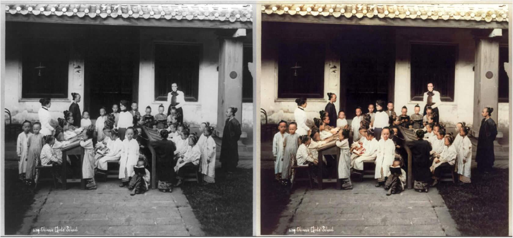 白黒写真をワンクリックでカラー化できる無料ツール Colourisesg が