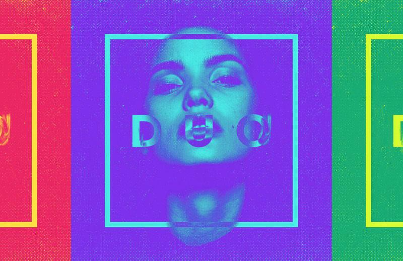 duotone-portrait-effect