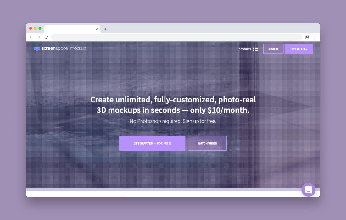 screenspace-mockup