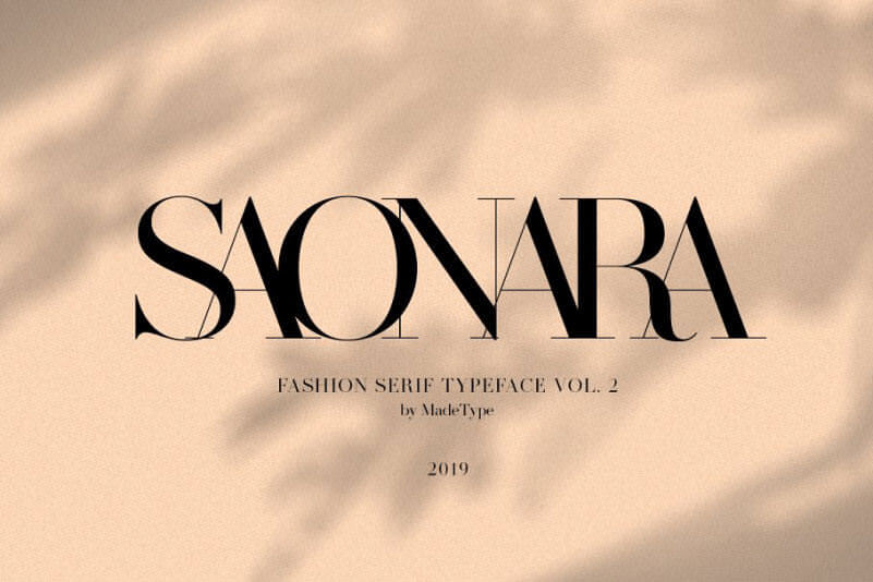 made-saonara-serif-font