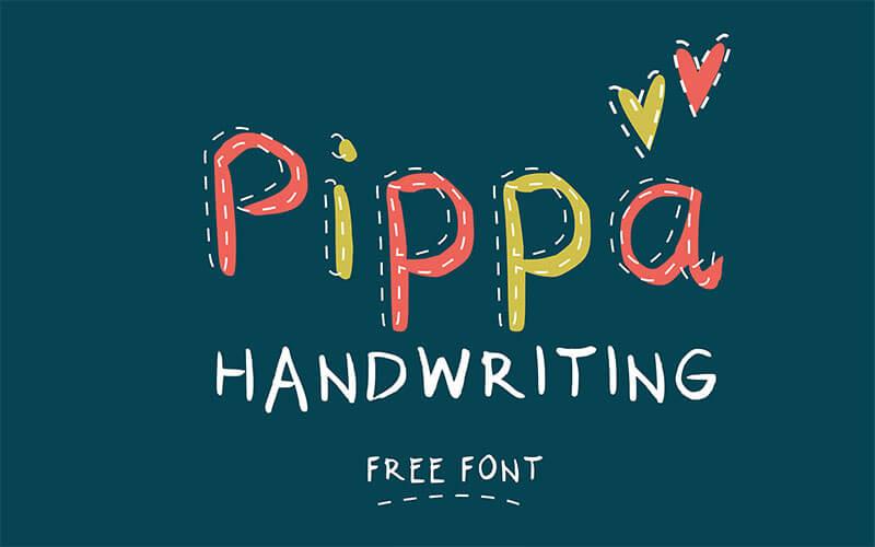 pippa-handwriting-free-font