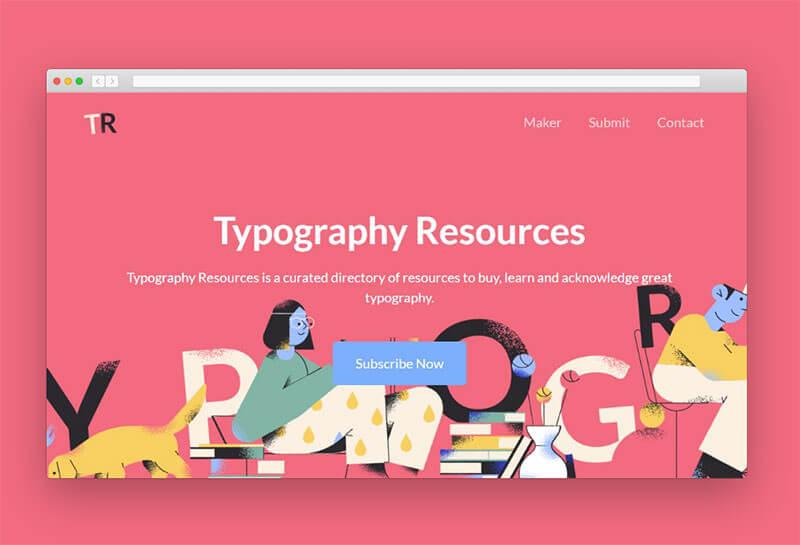 typography-resources