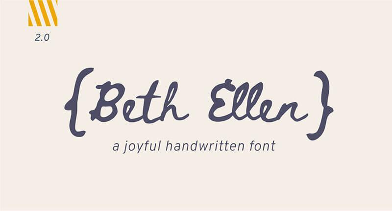 beth-ellen-font