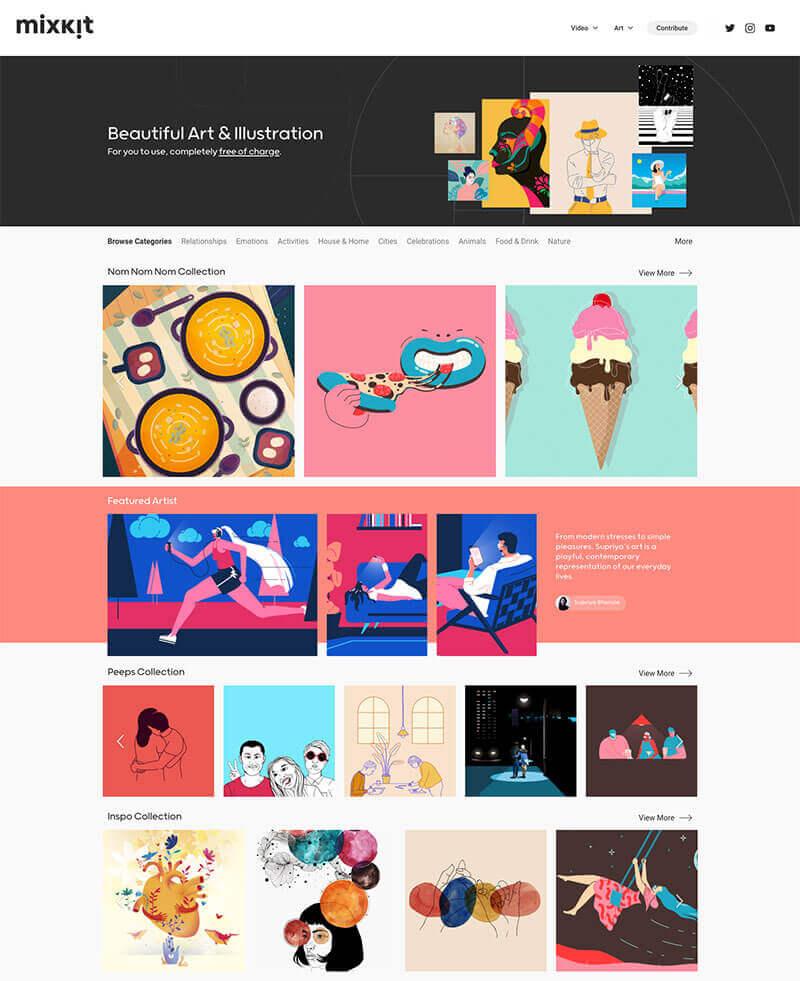 イラスト 素材 サイト