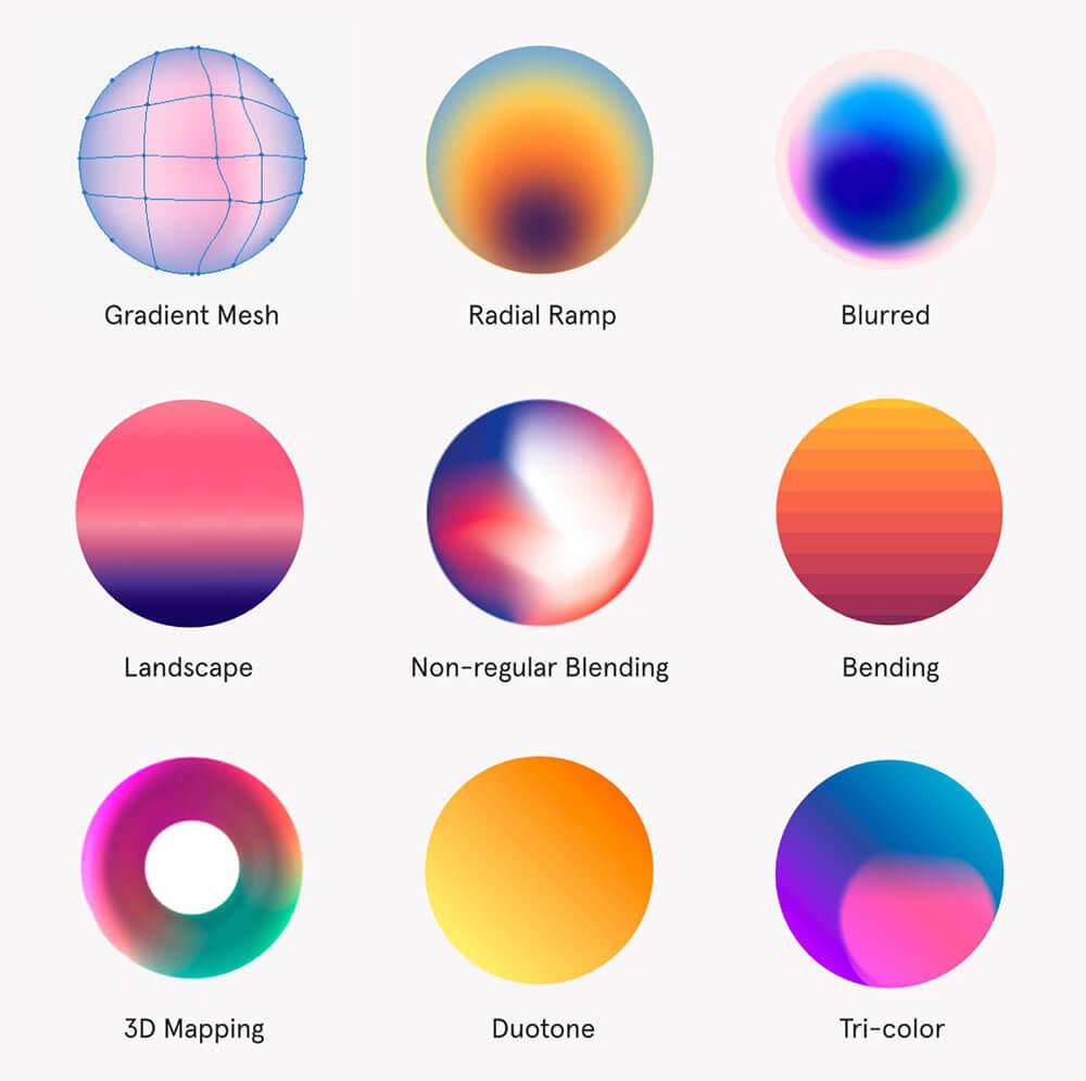 gradient-web-design-trends