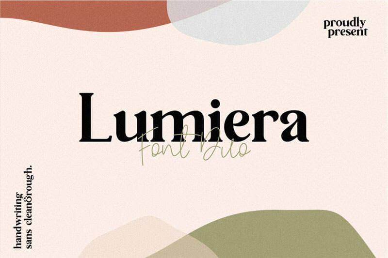 lumiera-font-duo