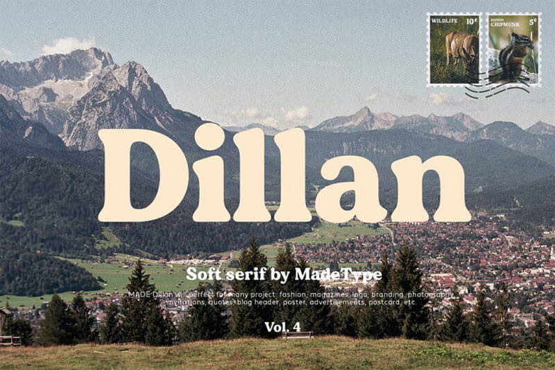 made-dillan-font
