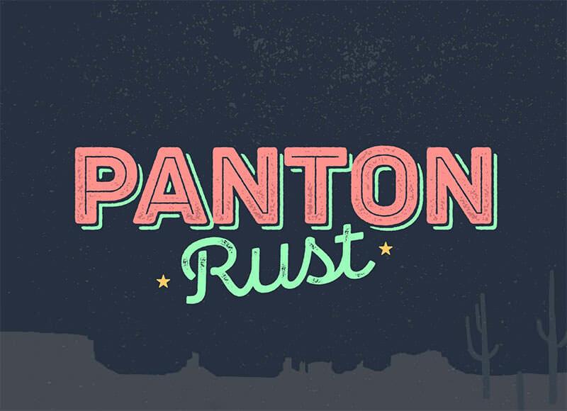 pantone-rust-sans-font