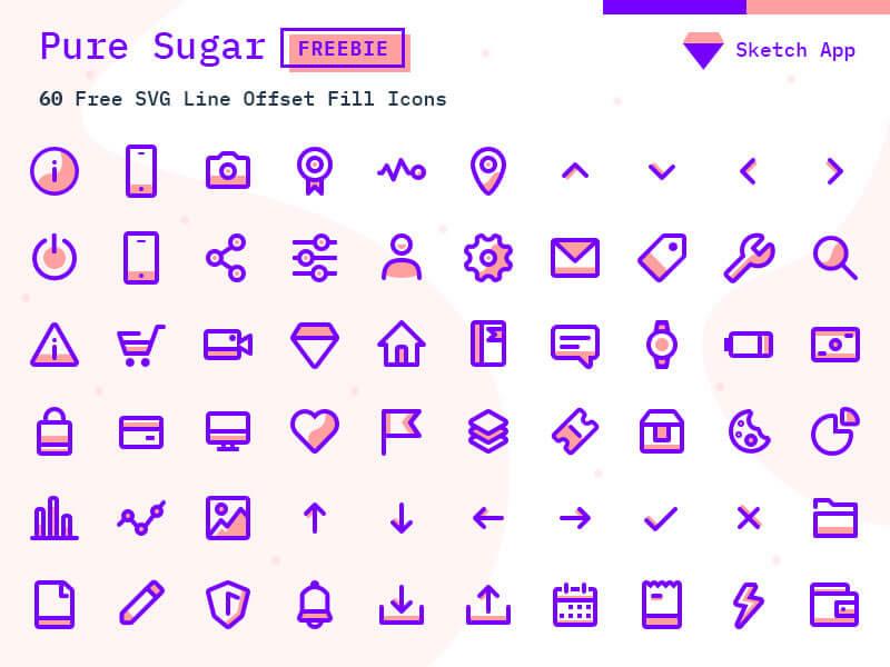 pure_sugar_60_free_svg_icons