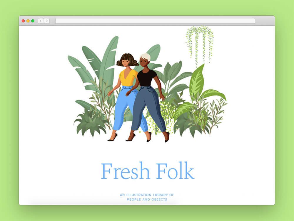 fresk-folk