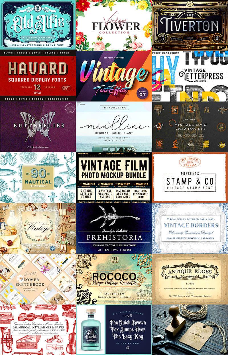 expansive-vintage-design-library