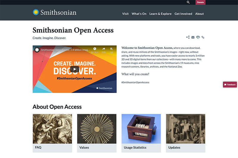 smithsonian_open_access___smithsonian_institution