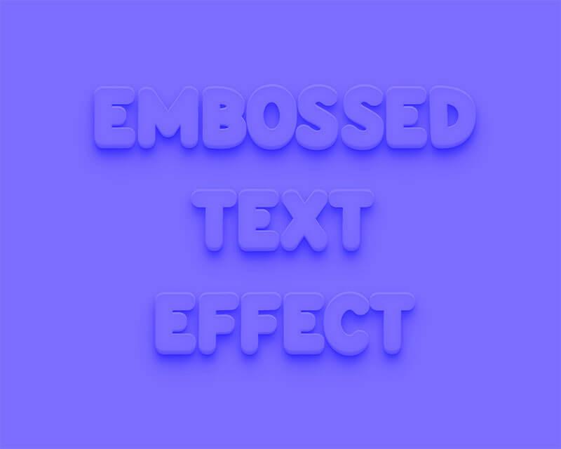 embossedtexteffect0